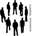 men's saucer | Shutterstock .eps vector #50360974