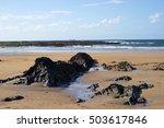 Beautiful Waves Break On The...