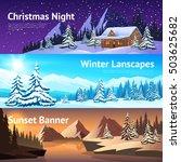 Winter Landscape Horisontal...