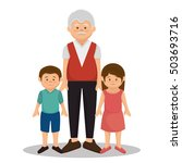 group family members characters | Shutterstock .eps vector #503693716