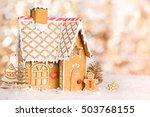 Homemade Gingerbread House...