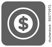 finance glyph icon. image style ... | Shutterstock . vector #503773972