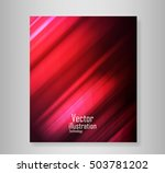 coving wave abstract vector... | Shutterstock .eps vector #503781202