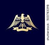 falcon logo | Shutterstock .eps vector #503783398