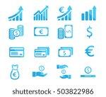 finance icon illustration   Shutterstock .eps vector #503822986