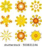 autumn polygonal mosaic