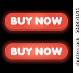 set of red buttons with buy now ...