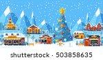 stock vector illustration... | Shutterstock .eps vector #503858635
