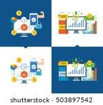 concept of illustration  ... | Shutterstock .eps vector #503897542