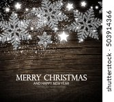 christmas greeting card and... | Shutterstock .eps vector #503914366