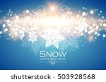 colorful christmas background...   Shutterstock .eps vector #503928568