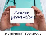 cancer prevention screening... | Shutterstock . vector #503929072
