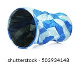 Stock photo pet tunnel on white background 503934148