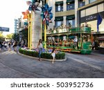 los angeles oct 1st 2016  the... | Shutterstock . vector #503952736
