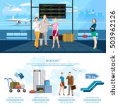 airport infographics airport... | Shutterstock .eps vector #503962126