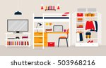vector illustration of the... | Shutterstock .eps vector #503968216