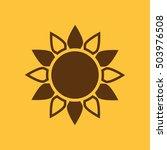 the sun icon. sunrise and...