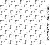 wavy  zigzag parallel lines... | Shutterstock . vector #503978068
