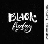 black friday shopping banner... | Shutterstock .eps vector #503980582