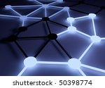 Networking conceptual image. - stock photo