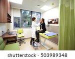 general practitioner lymph nodes | Shutterstock . vector #503989348