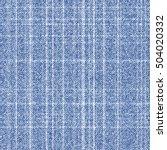 seamless vector geometric denim ... | Shutterstock .eps vector #504020332