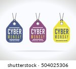 special offer sale tag discount ... | Shutterstock .eps vector #504025306