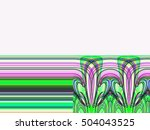 abstract background laser light ... | Shutterstock . vector #504043525