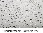 background raindrops on the... | Shutterstock . vector #504045892