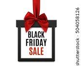 black friday sale  square... | Shutterstock .eps vector #504058126