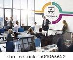 analytics growth investment... | Shutterstock . vector #504066652