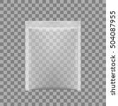 transparent packaging for... | Shutterstock .eps vector #504087955