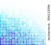 blue random dots background ... | Shutterstock .eps vector #504115096