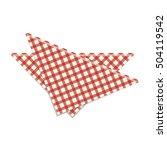 picnic napkin icon | Shutterstock .eps vector #504119542