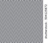 perfect seamless zig zag... | Shutterstock .eps vector #504125872