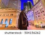 New York City Cityscape At Wal...