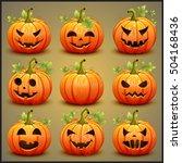 Big Set Of Pumpkins For...
