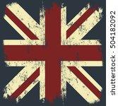 vintage united kingdom of great ... | Shutterstock .eps vector #504182092