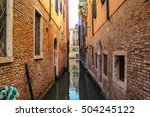venice the canal  old structure | Shutterstock . vector #504245122