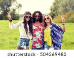 nature  summer  youth culture ... | Shutterstock . vector #504269482