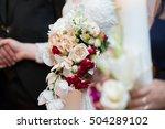 wedding bouquet | Shutterstock . vector #504289102