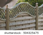 Fence Panel Decorative With...