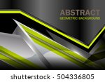 abstract background green and... | Shutterstock .eps vector #504336805