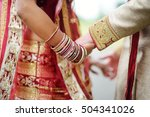 amazing hindu wedding ceremony. ... | Shutterstock . vector #504341026