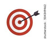 cartoon money earnings design... | Shutterstock .eps vector #504349462