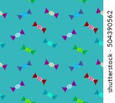 candys pattern color with... | Shutterstock .eps vector #504390562