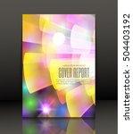 template design for cover....   Shutterstock .eps vector #504403192