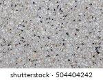 terrazzo floor texture... | Shutterstock . vector #504404242