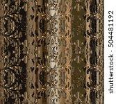 damask floral baroque modern...   Shutterstock .eps vector #504481192