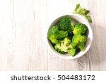 broccoli | Shutterstock . vector #504483172